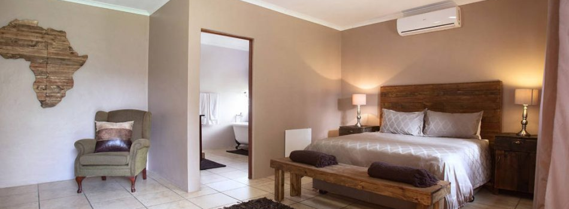 Brown Room Accommodation Option - Tambati Overnight Accommodation