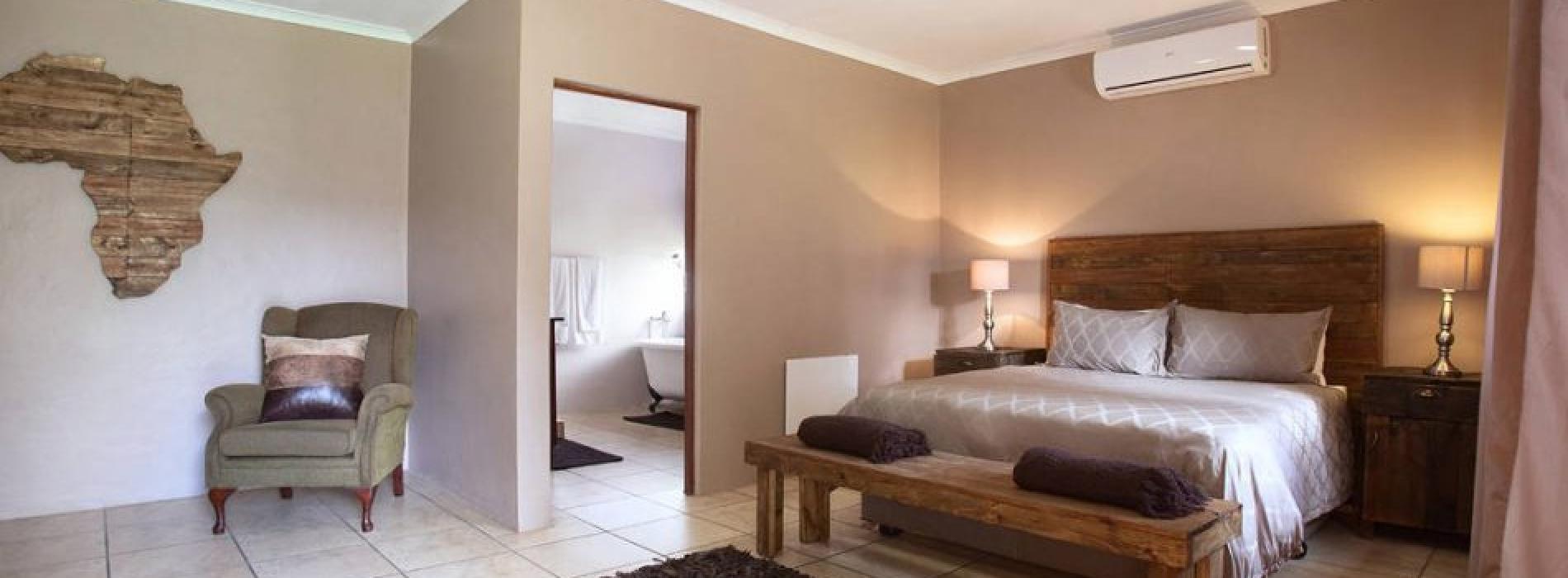 Brown Room Accommodation Option - Tambati Overnight Accommodation